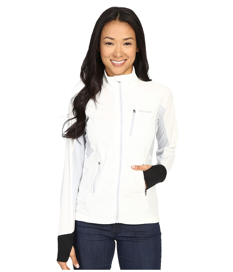 Marmot - Fusion Jacket (White/Silver) Women's Jacket