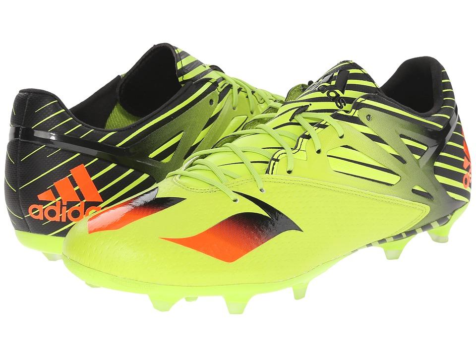 adidas Messi 15.2 FG/AG (Semi Solar Slime/Solar Red/Black) Men