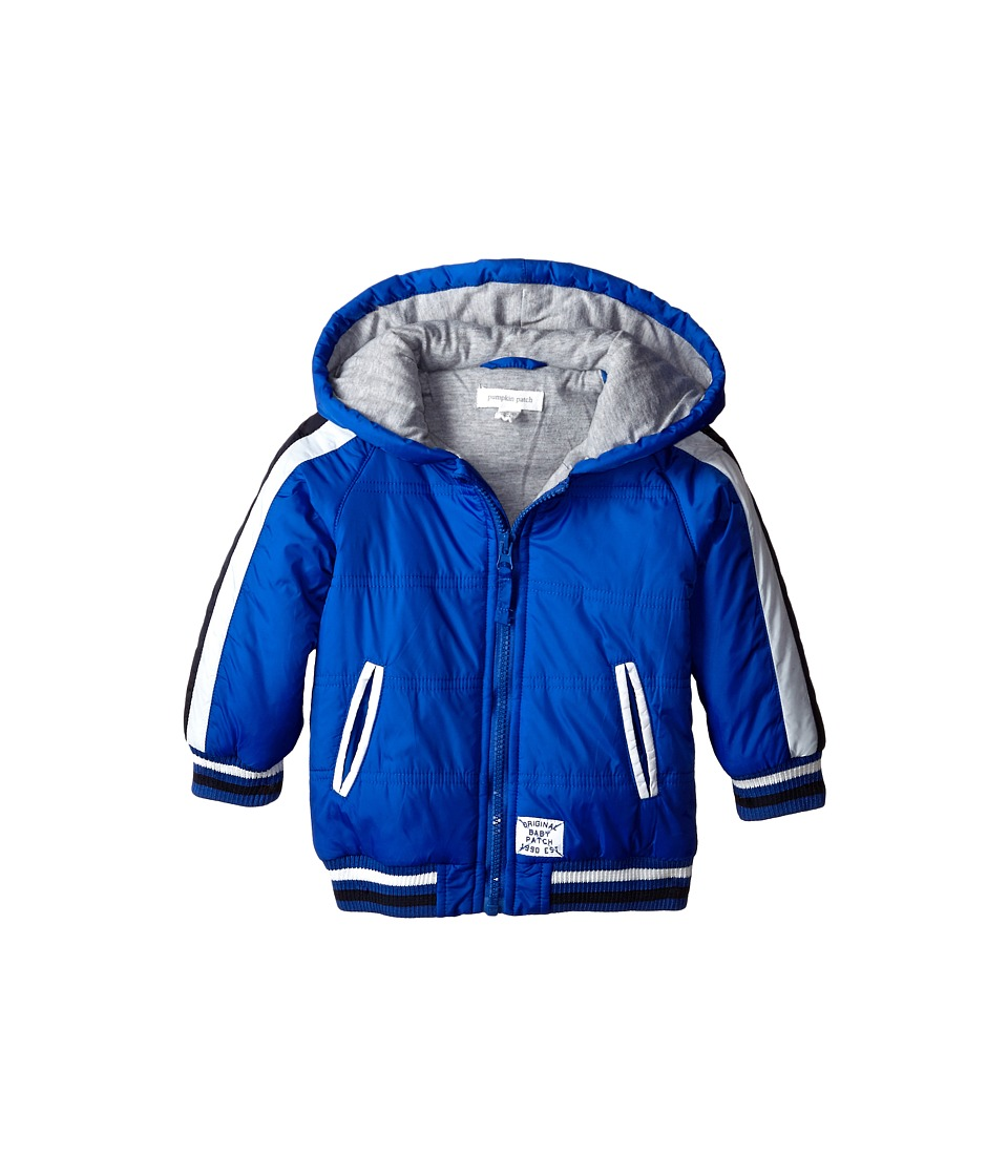 Pumpkin Patch Kids - Wheel Life Puffer Jacket (Infant) (Electric Blue) Boy