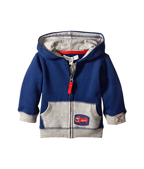 Pumpkin Patch Kids - Wheel Life Knit Jacket (Infant) (Olympian Blue) Boy