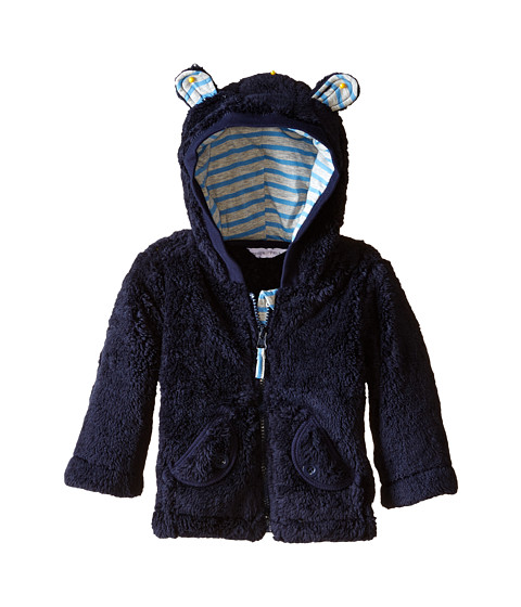 Pumpkin Patch Kids - Fur Jacket (Infant) (Blue Night) Boy