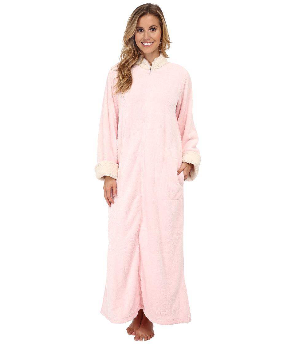 Natori - Sherpa Caftan (Blush) Women's Pajama