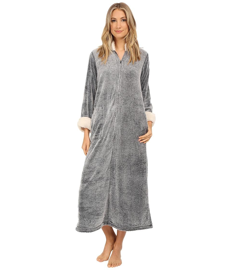 Natori - Sherpa Caftan (Black) Women's Pajama