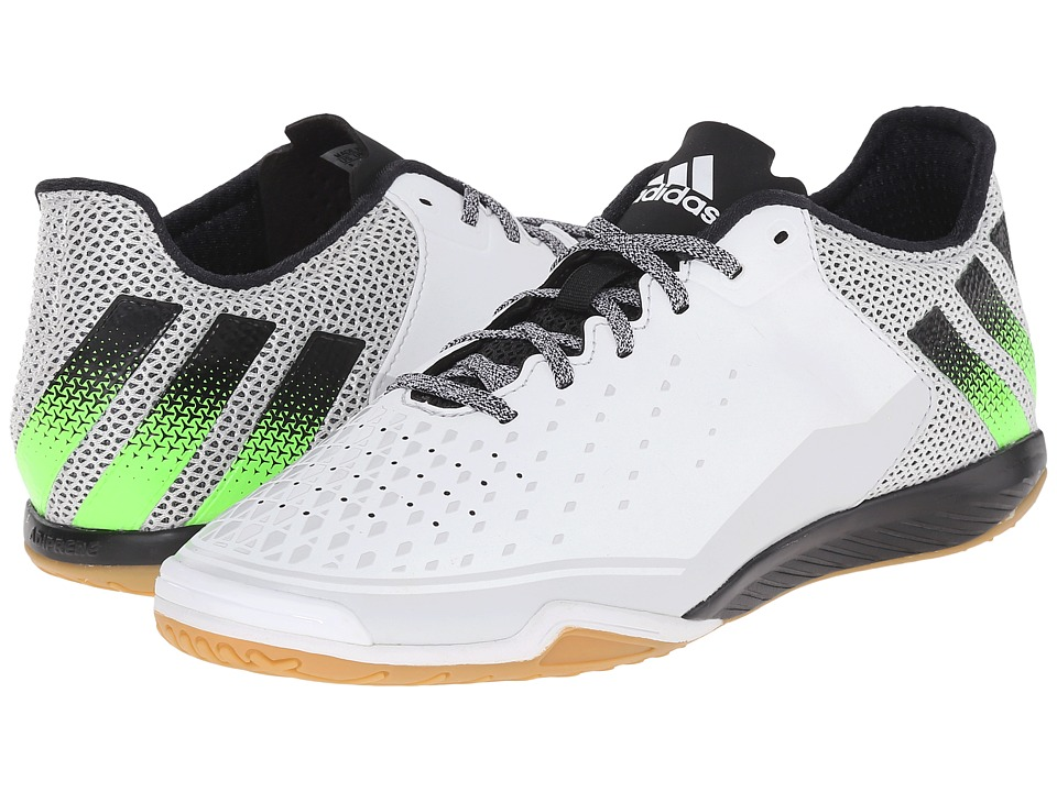 adidas - Ace 16.2 CT (Crystal White/Solar Green/Black) Men's Soccer Shoes