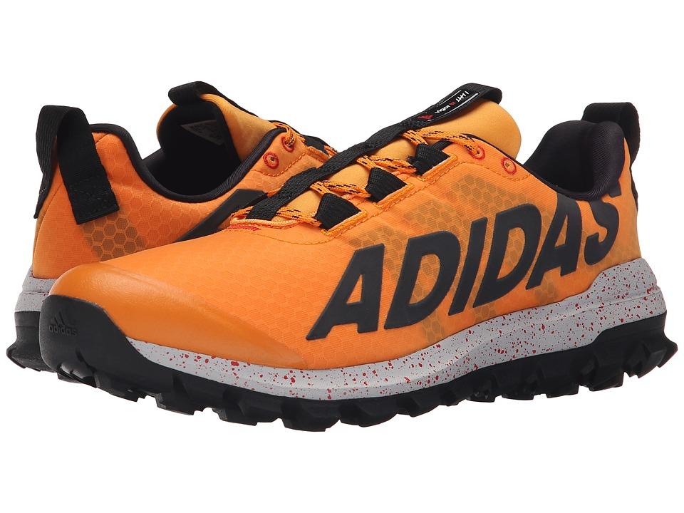 adidas - Vigor 6 TR (EQT Orange/Black/Clear Onix) Men's Running Shoes