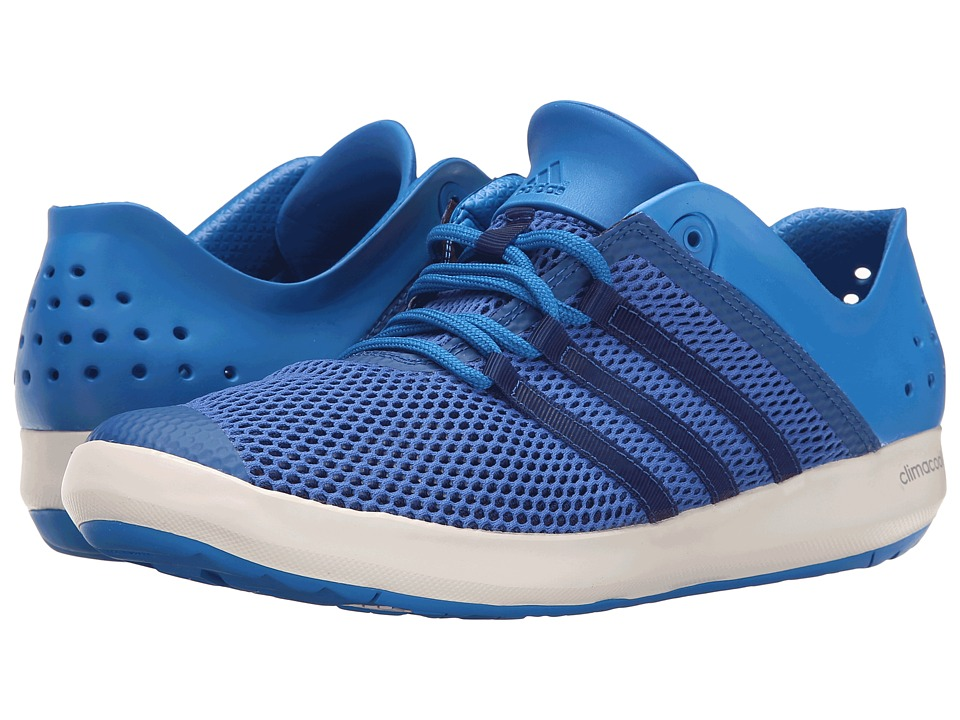 adidas Outdoor - CLIMACOOL Boat Pure (EQT Blue/Shock Blue/Chalk White) Men