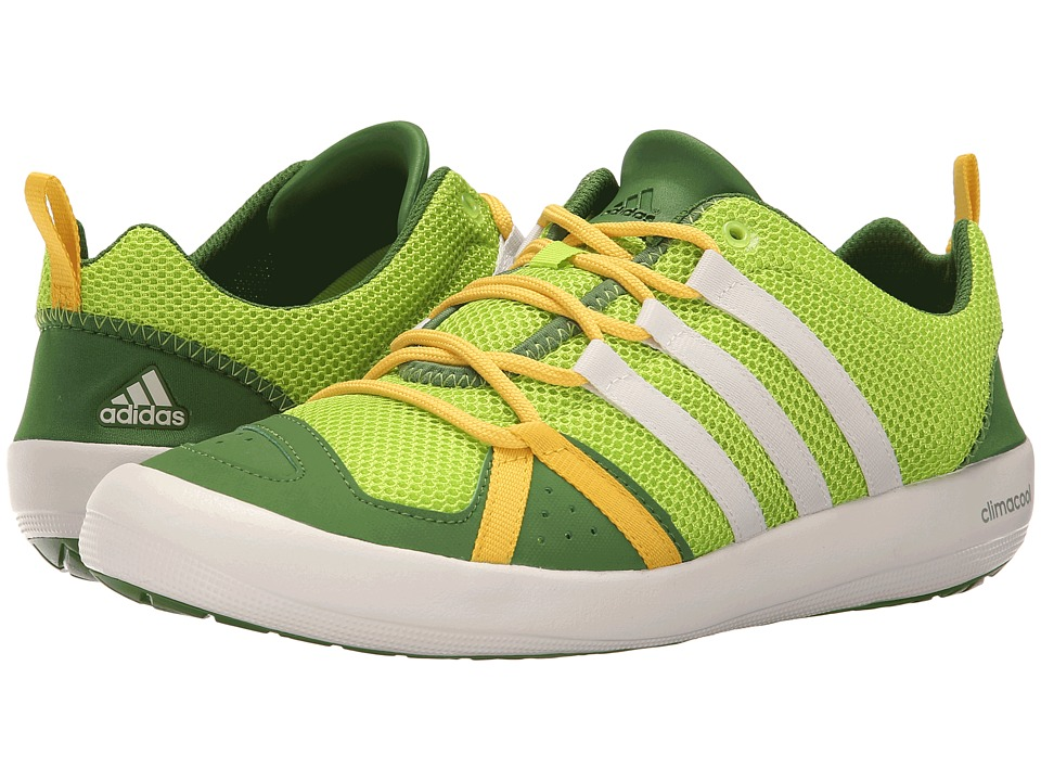adidas Outdoor - Climacool Boat Lace (Semi Solar Slime/Chalk White/Raw Lime) Men's Shoes