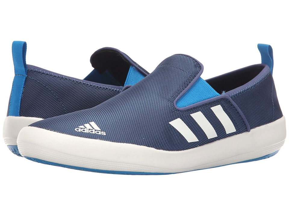 adidas Outdoor - B Slip-On DLX (Mineral Blue/White/Solar Blue) Men's Shoes