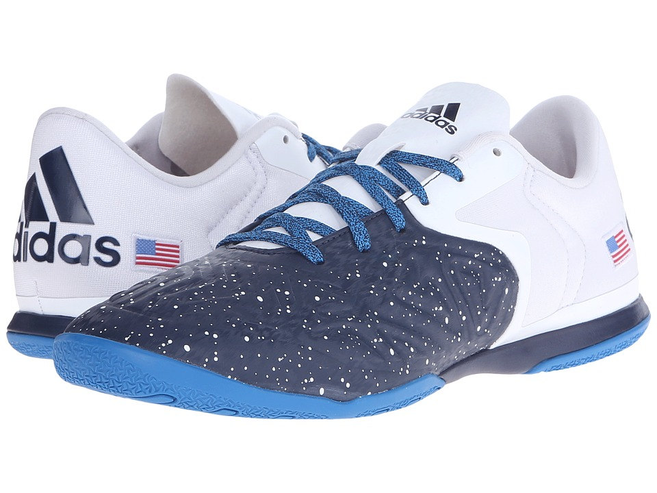 adidas - X 15.2 Court Country Pack (Collegiate Navy/White/Vivid Red (USA)) Men's Soccer Shoes