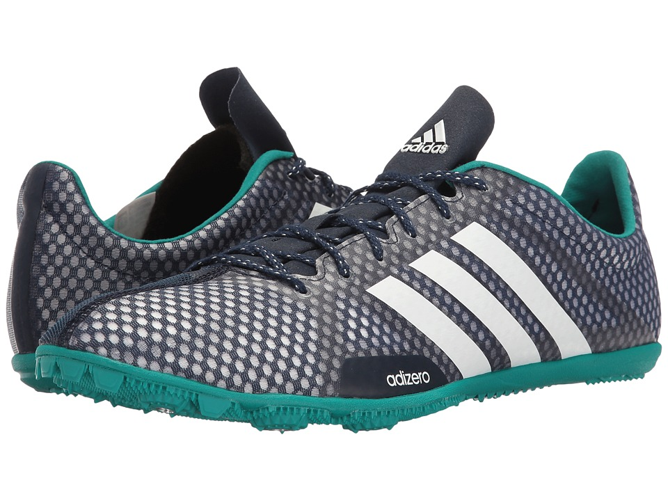 adidas - Adizero Ambition 2 (Collegiate Navy/White/EQT Green) Men's Cleated Shoes