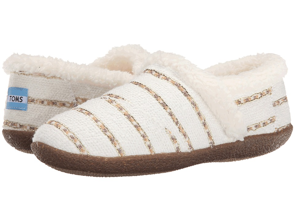 TOMS - Slipper (White Gold Boucle) Women's Slippers