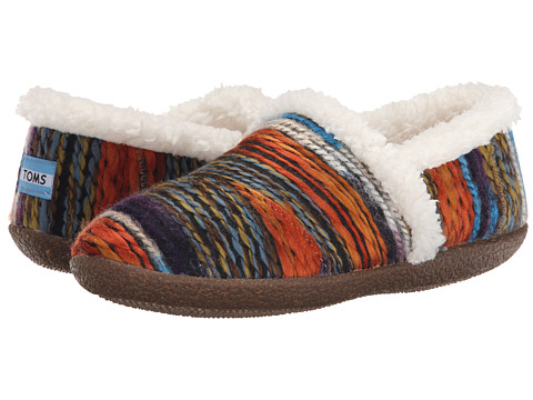 TOMS - Slipper (Multi Wool Stripe) Women's Slippers