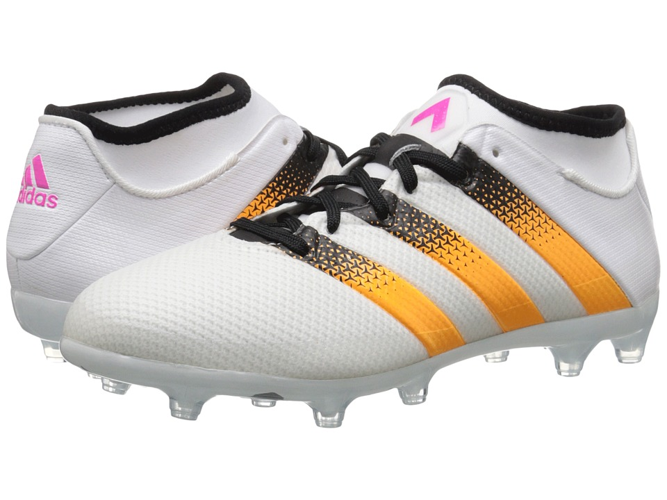 adidas - Ace 16.2 Primemesh FG/AG W (White/Solar Gold/Black) Women's Cleated Shoes