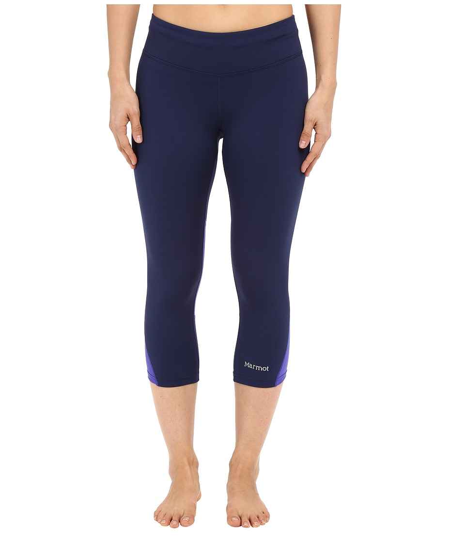 Marmot Interval Capri (Arctic Navy/Gemstone) Women