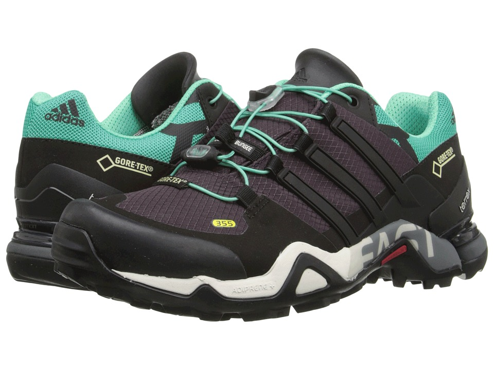 adidas Outdoor - Terrex Fast R GTX W (Mineral Red/Black/Shock Mint) Women's Shoes