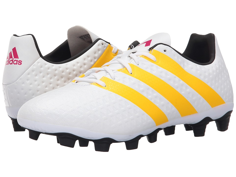 adidas - Ace 16.4 FxG W (White/Solar Gold/Black) Women's Soccer Shoes
