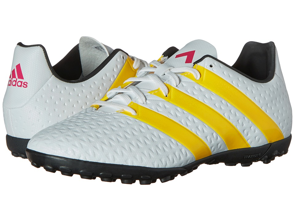 adidas - Ace 16.4 TF W (White/Solar Gold/Black) Women's Soccer Shoes