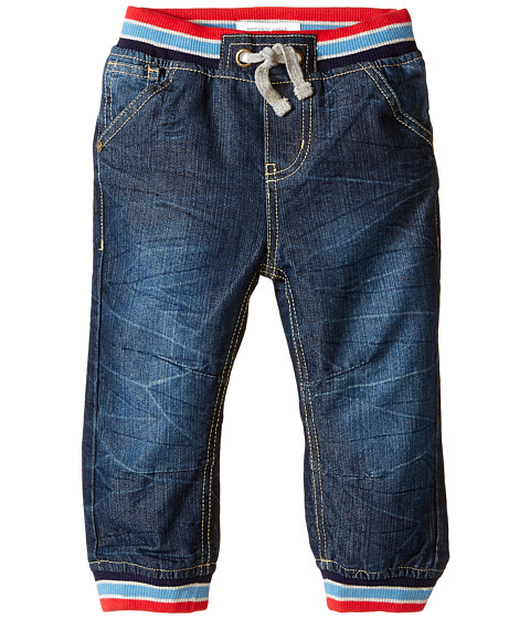 Pumpkin Patch Kids - Rib Waistband Denim Jeans (Infant/Toddler/Little Kids) (Indigo Denim) Boy
