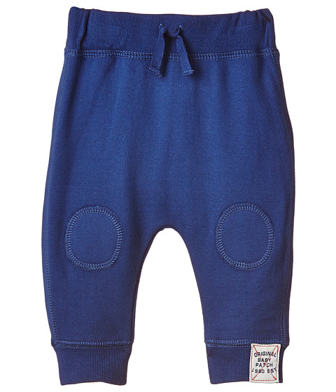 Pumpkin Patch Kids - Wheel Life Knee Patch Joggers (Infant) (Olympian Blue) Boy