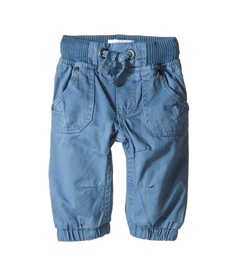 Pumpkin Patch Kids - Core Essentials Drill Pull-On Pants (Infant/Toddler/Little Kids/Big Kids) (Blue Stone) Boy's Clothing