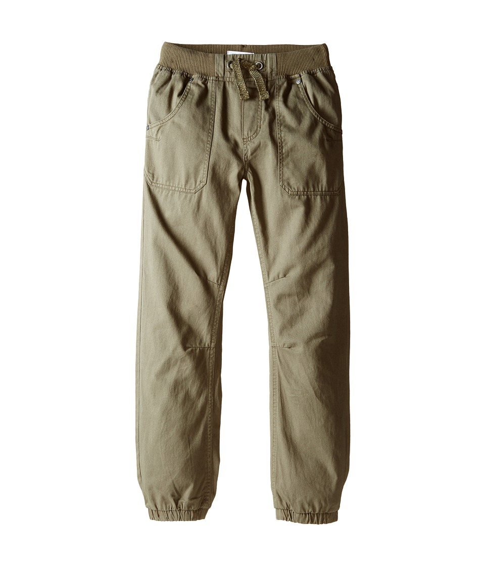Pumpkin Patch Kids - Core Essentials Drill Pull-On Pants (Infant/Toddler/Little Kids/Big Kids) (English Ivy) Boy's Clothing