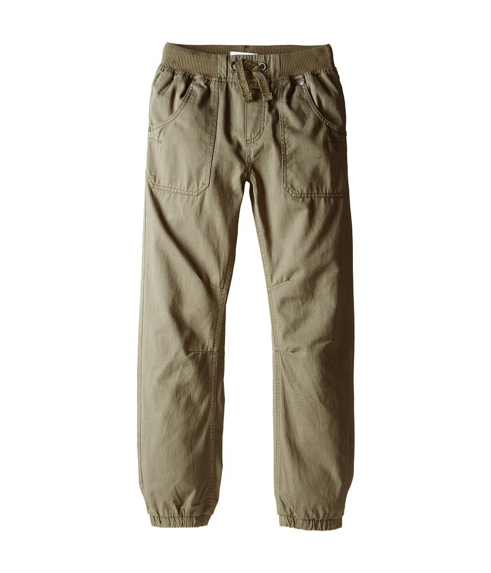 Pumpkin Patch Kids - Core Essentials Drill Pull-On Pants (Infant/Toddler/Little Kids/Big Kids) (English Ivy) Boy