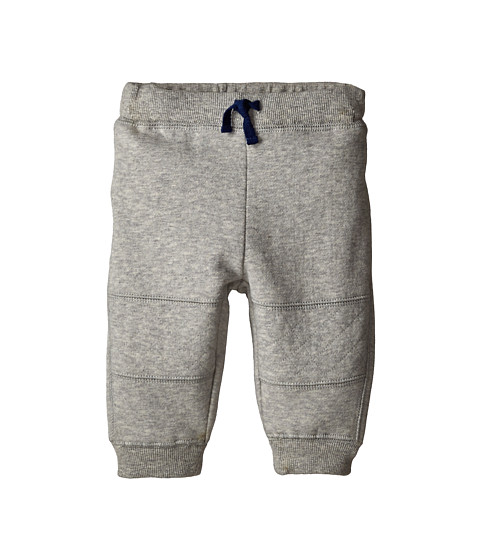 Pumpkin Patch Kids - Wheel Life Quilted Joggers (Infant) (Metal Marle) Boy