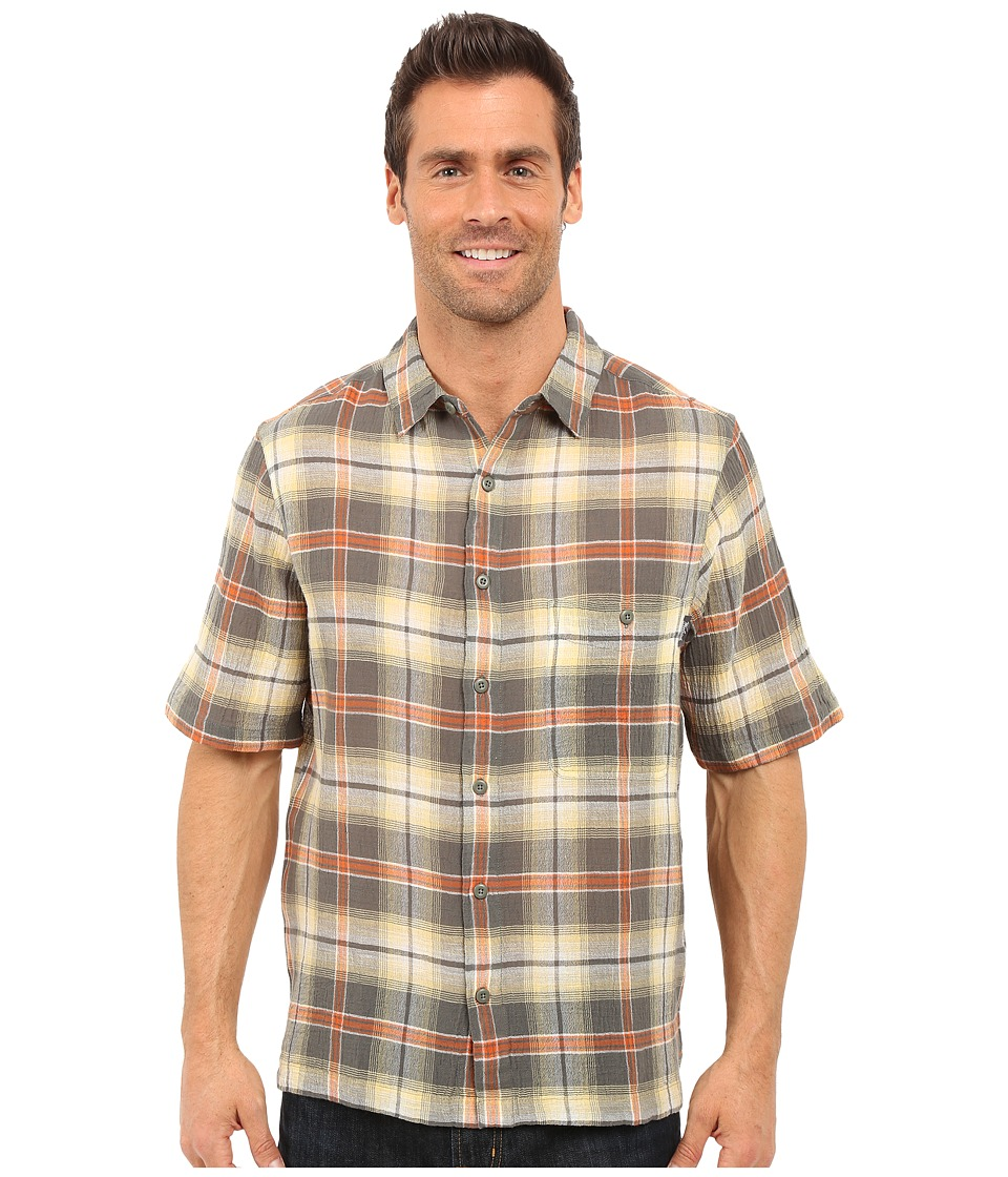 Woolrich - Chill Out Shirt (Field Gray) Men's Short Sleeve Button Up