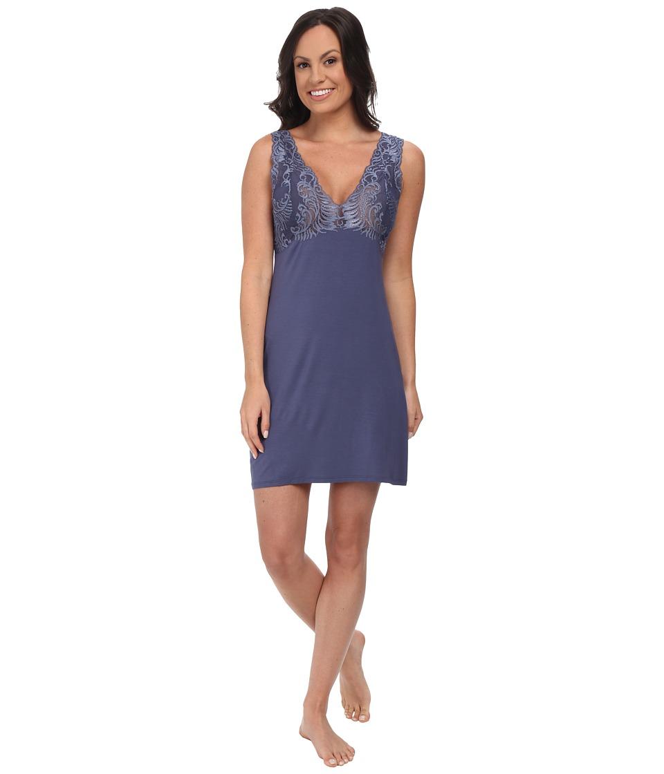 Natori - Chemise (Slate Blue) Women's Pajama