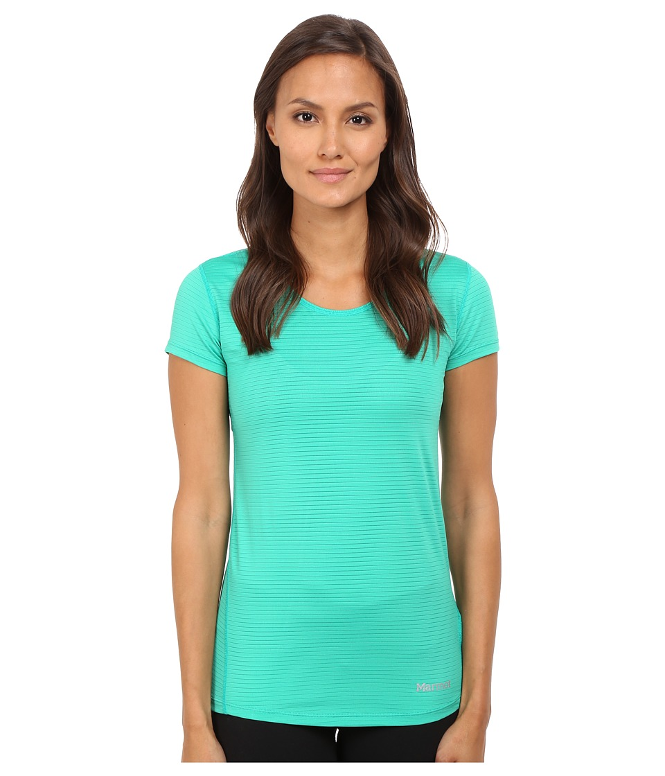 Marmot - Aero Short Sleeve (Gem Green) Women's T Shirt