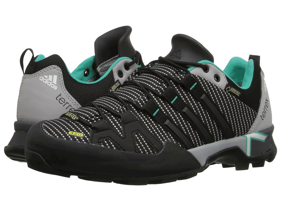 adidas Outdoor - Terrex Scope GTX (MGH Solid Grey/Black/Shock Mint) Women's Shoes