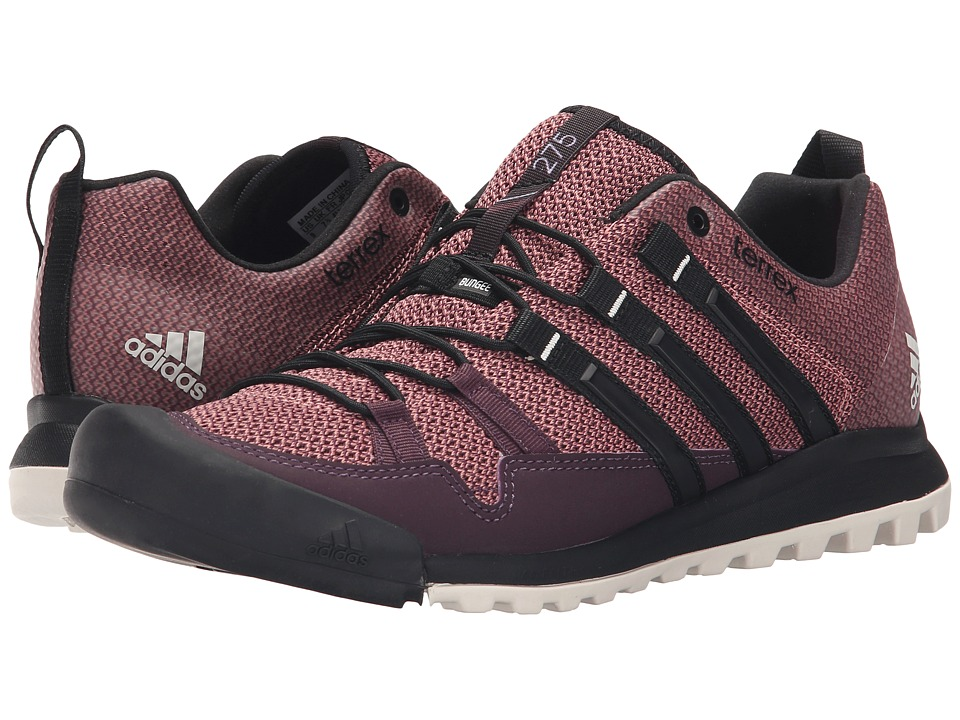 adidas Outdoor - Terrex Solo (Mineral Red/Black/Raw Pink) Women's Shoes