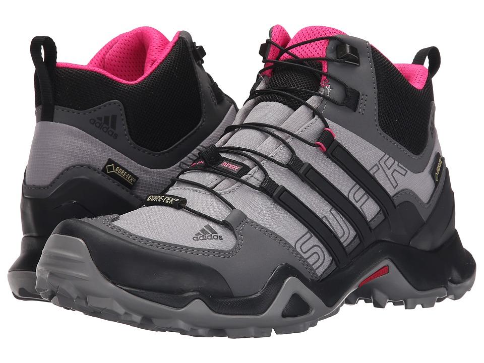 adidas Outdoor - Terrex Swift R Mid GTX (Shock Pink/Granite/Black) Women's Shoes