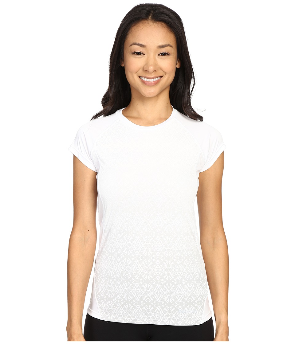 Marmot - Crystal Short Sleeve (White) Women's T Shirt