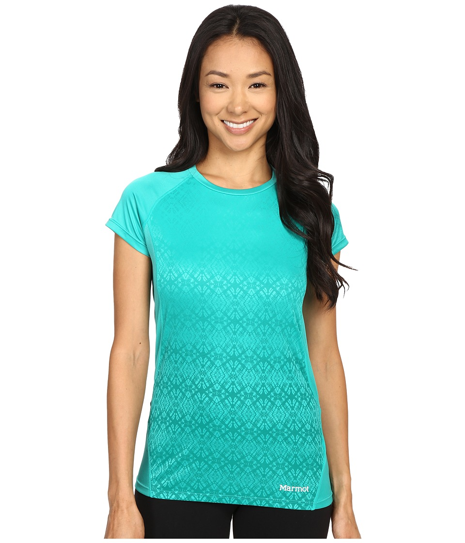 Marmot Crystal Short Sleeve (Gem Green) Women