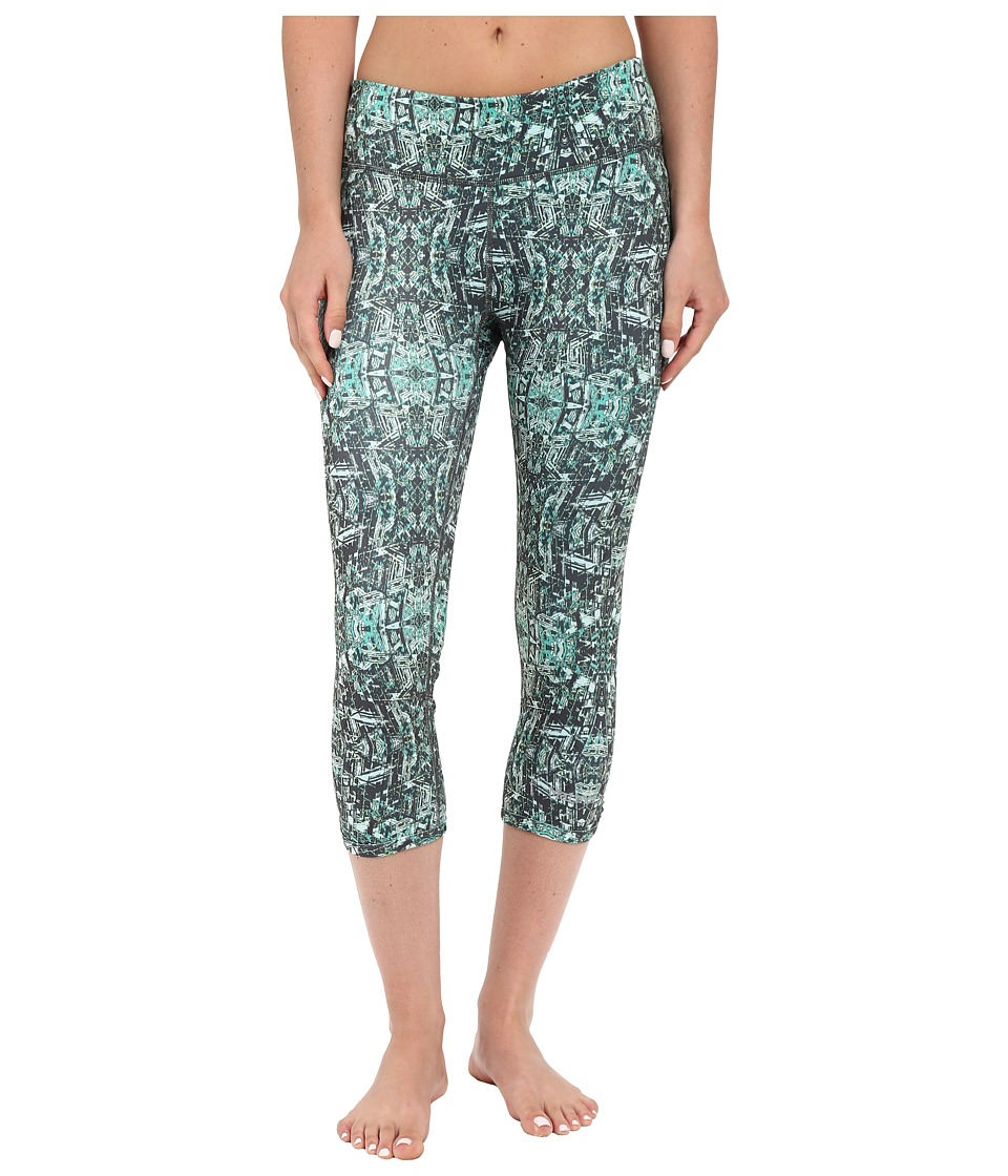 Marmot Jump Start Capri (Gem Green Kaleidoscope) Women