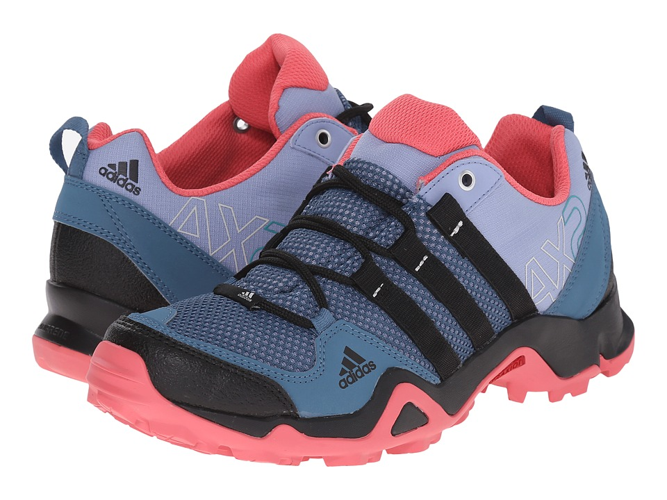 adidas Outdoor - AX 2 W (Prism Blue/Black/Super Blush) Women's Shoes