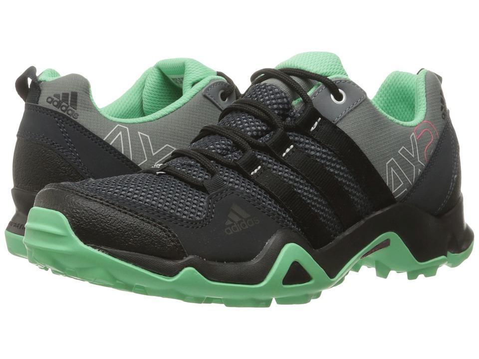 adidas Outdoor AX 2 W (Vista Grey/Black/Green Glow) Women