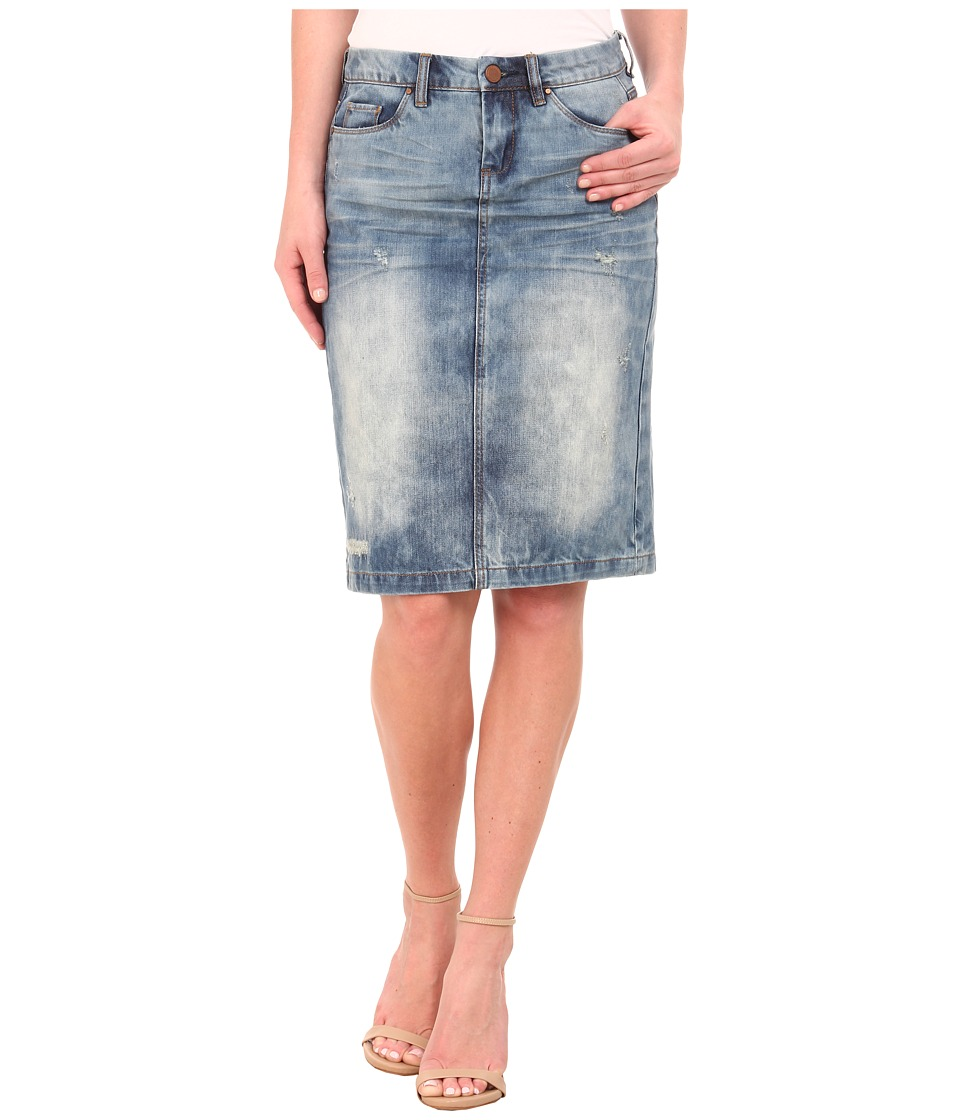 Blank NYC - Denim Pencil Skirt in Mondaze (Mondaze) Women's Skirt