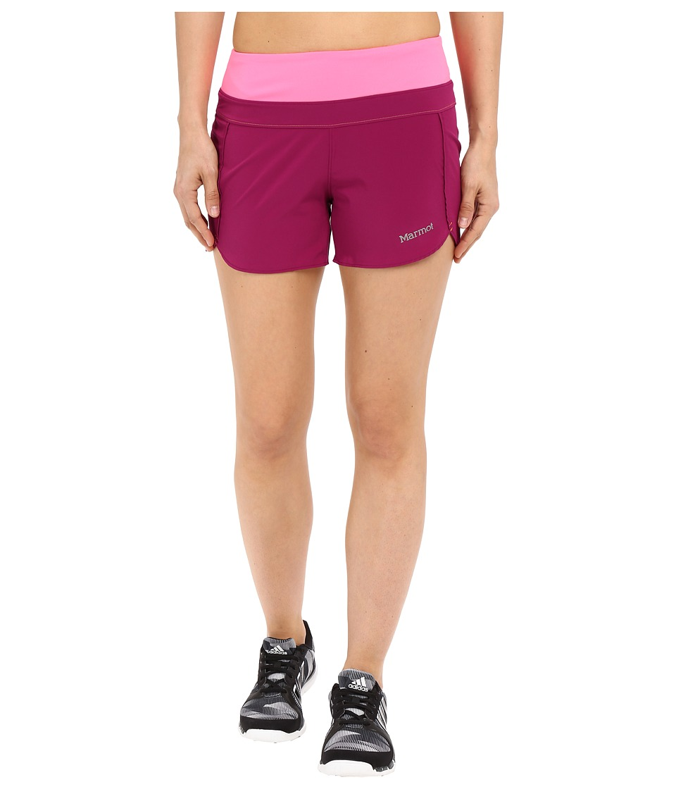 Marmot - Circuit Shorts (Wild Rose/Kinetic Pink) Women's Shorts
