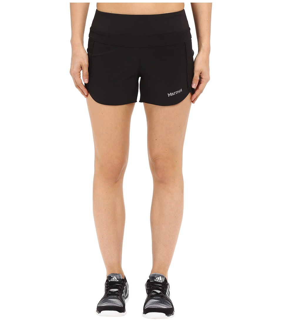 Marmot - Circuit Shorts (Black) Women's Shorts