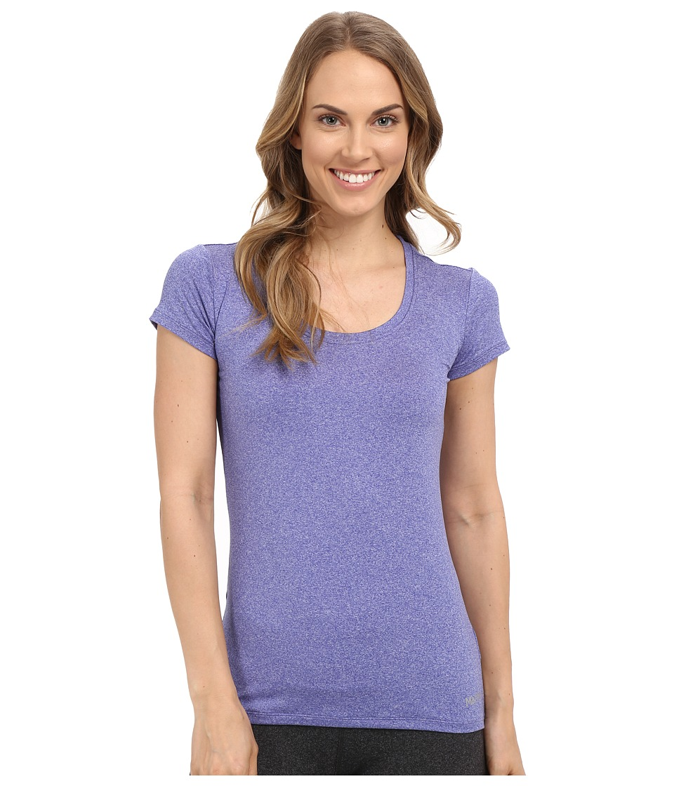 Marmot All Around Tee S/S (Gemstone Heather) Women