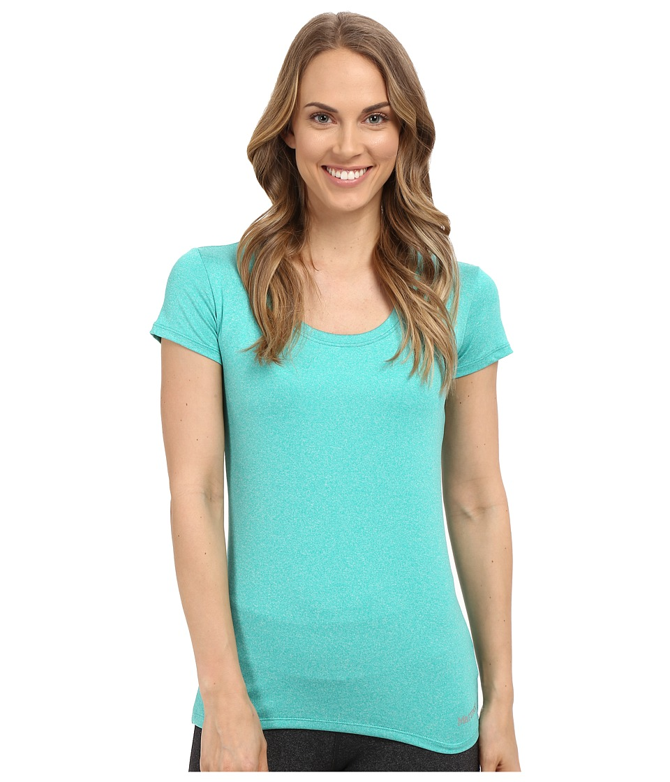 Marmot All Around Tee S/S (Gem Green Heather) Women