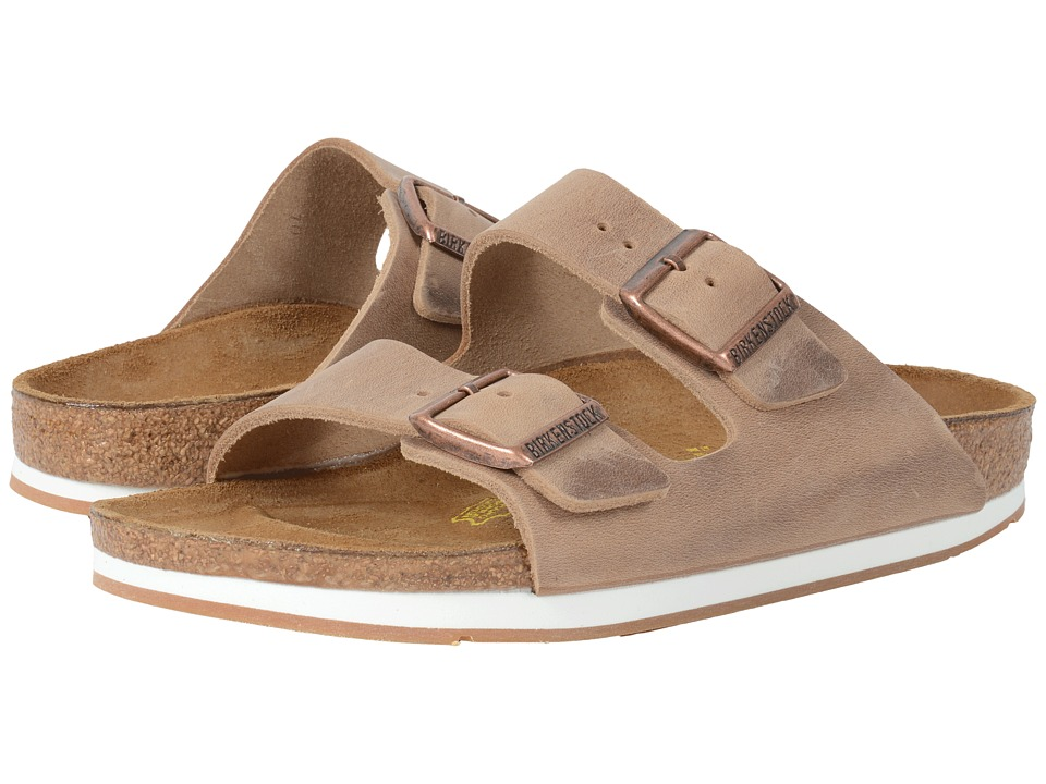 Birkenstock - Arizona - Sport (Unisex) (Tobacco Oiled Leather) Shoes
