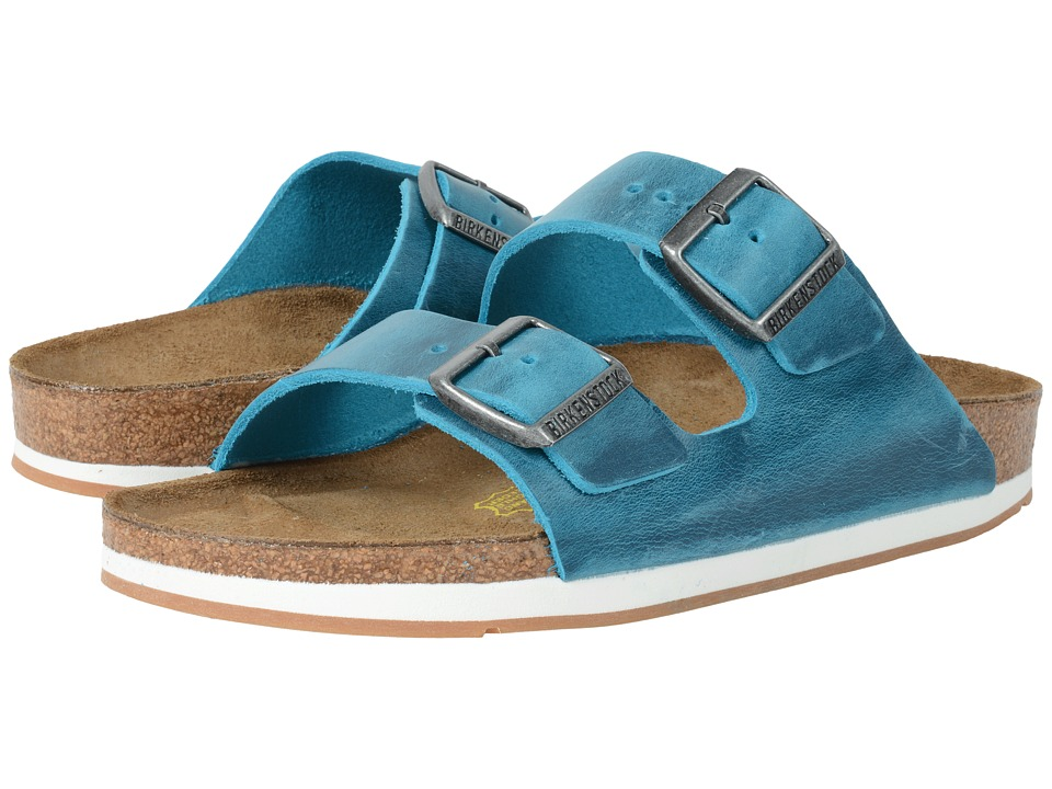 Birkenstock - Arizona - Sport (Unisex) (Biscay Bay Oiled Leather) Shoes