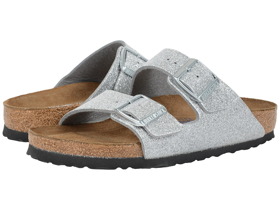Birkenstock - Arizona Soft Footbed (Magic Galaxy Silver Birko-Flor ) Women's Sandals