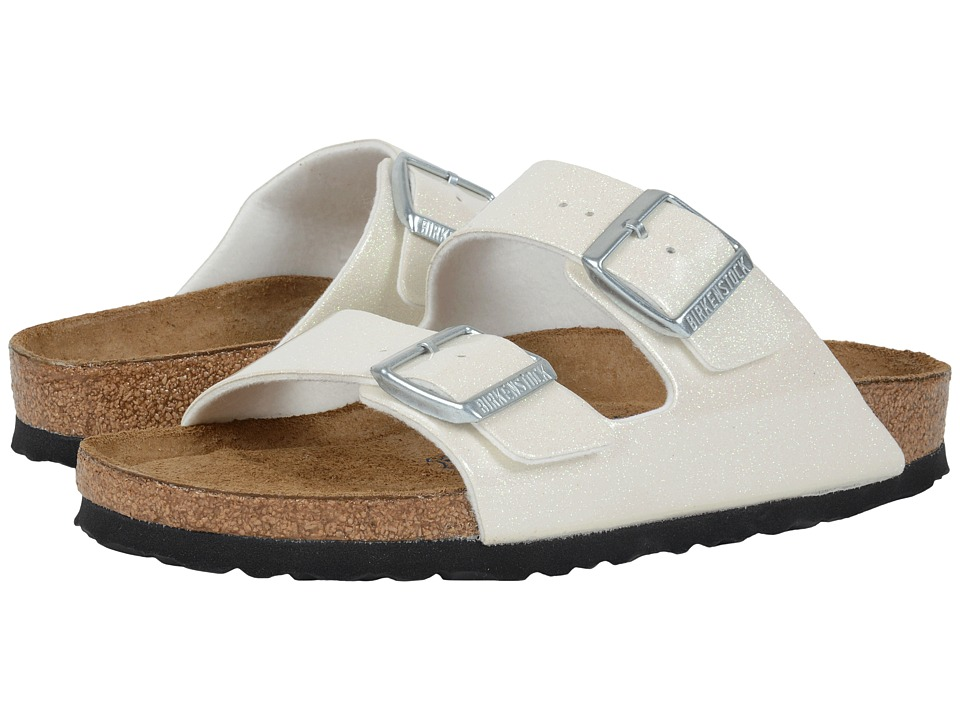 Birkenstock - Arizona Soft Footbed (Magic Galaxy White Birko-Flor ) Women's Sandals