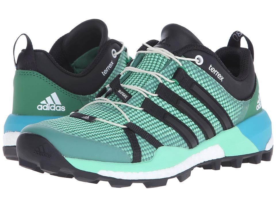 adidas Outdoor Terrex Skychaser (Blanch Green/Black/Green Glow) Women