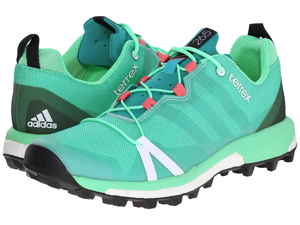 adidas Outdoor - Terrex Agravic (Shock Green/White/Super Blush) Women's Shoes