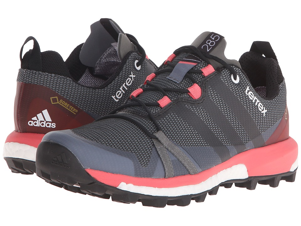 adidas Outdoor - Terrex Agravic GTX (Vista Grey/Black/Super Blush) Women's Shoes